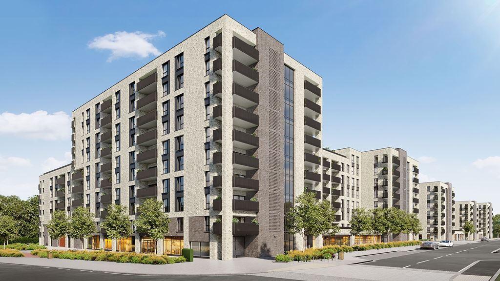 merrielands, building exterior cgi, dagenham