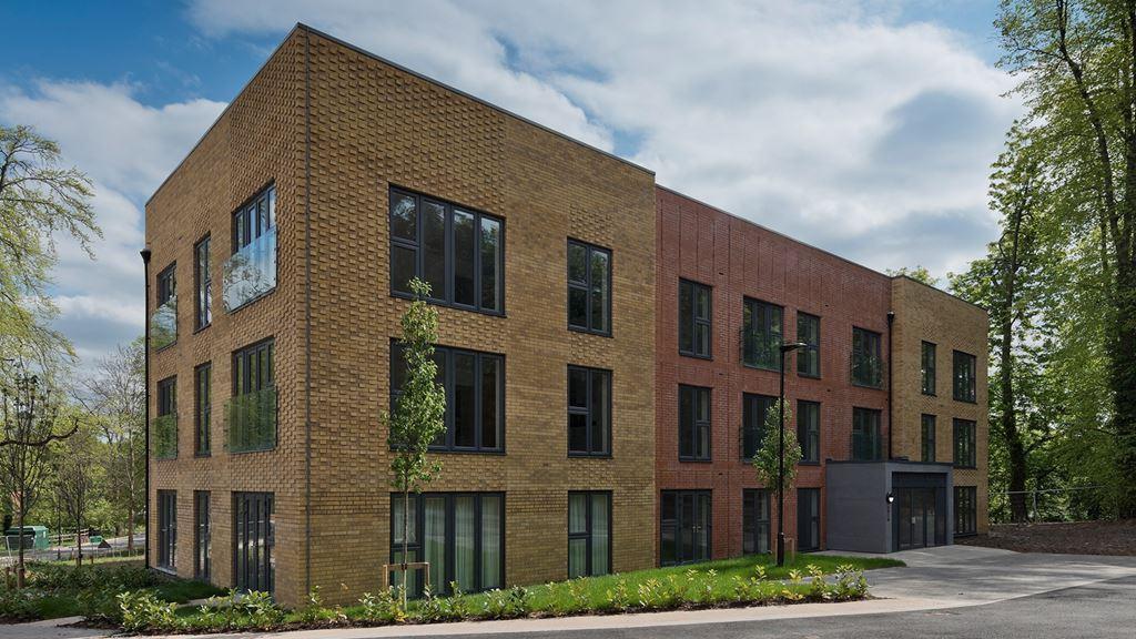 Woodbrook House exterior view of development, Birmingham, West Midlands.